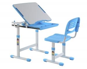 Scaun si birou pt. copii albastru C4